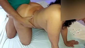 Mulher casada dando para amante no motel
