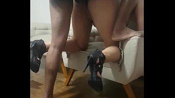 Prima e primo trasando gostoso e filmando na webcam