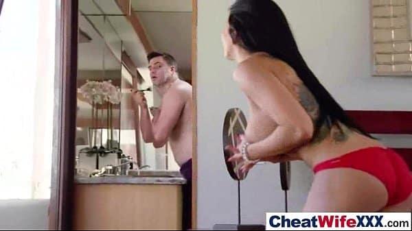 Comendo esposa gostosa em adultério depois da academia