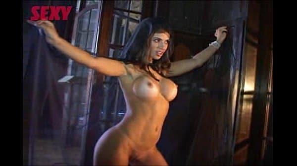 Sandy Capetinha pelada na sexy making off