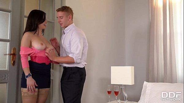 Escritorio do sexo com safada sendo promovida