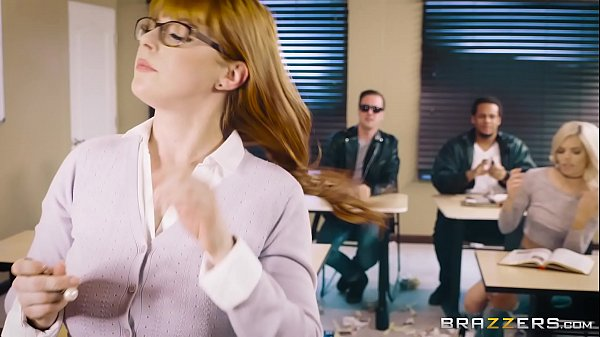 Professora ruiva gostosa fazendo sexo