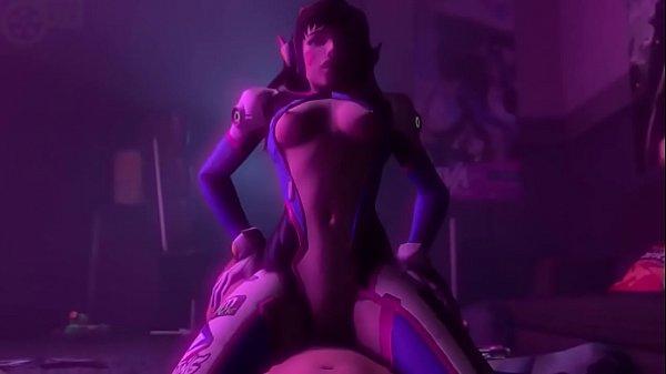Sexo Overwatch com novinha muito gostosa safada