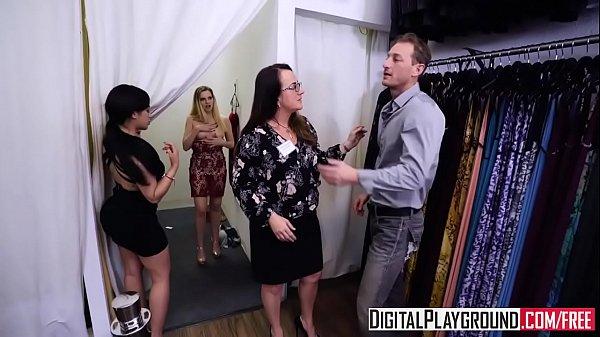 Video intimo de loirinha transando no provador de roupa