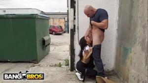 Diego sans morena fazendo boquete na rua com dotado