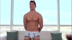 Gay da academia fazendo video pornô por dinheiro